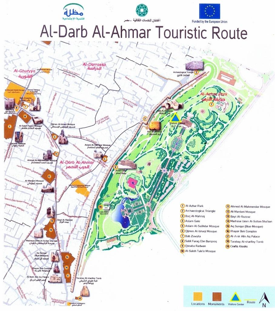 Al Darb Al Ahmar Mapa